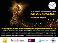 Thursday May 15: Charity Quiz Night at Hong Kong Football Club