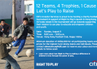 Sunday Aug 3, 8.30am: CITI Charity tournament